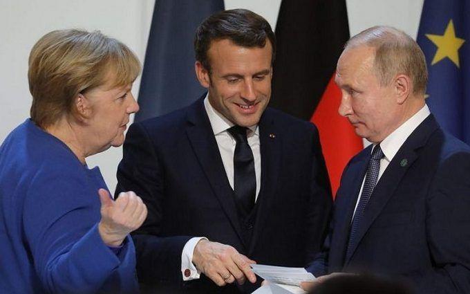 Путин, Меркель и Макрон обсудили ситуацию на Донбассе - подробности |  ONLINE.UA